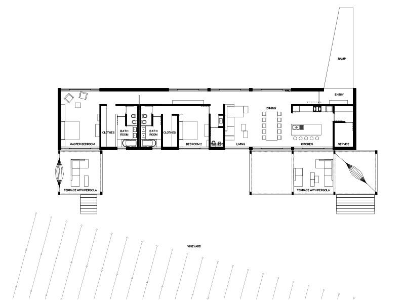 Planos villa